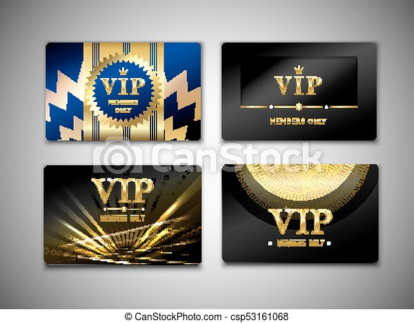 Vip cards design template vip cards design template on black vip cards design template csp53161068 maxwellsz