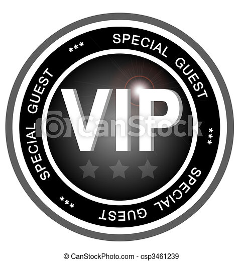 VIP special guest - csp3461239