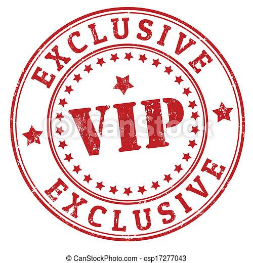 VIP stamp - csp17277043