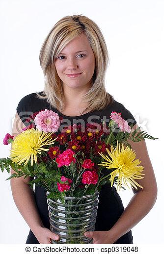virág, művész - csp0319048