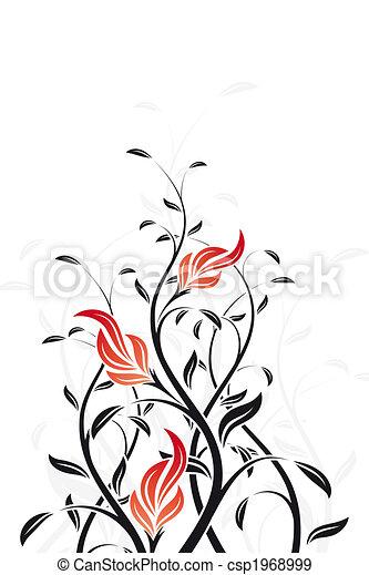 virágos, örvény - csp1968999