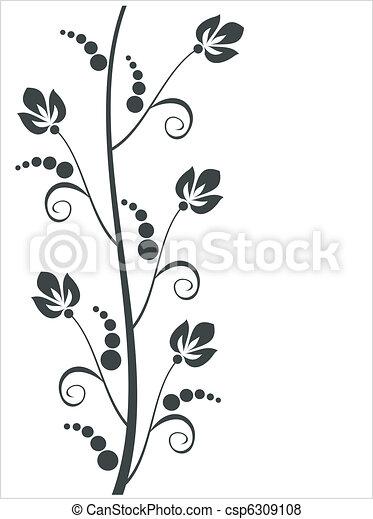 virágos, díszítés - csp6309108