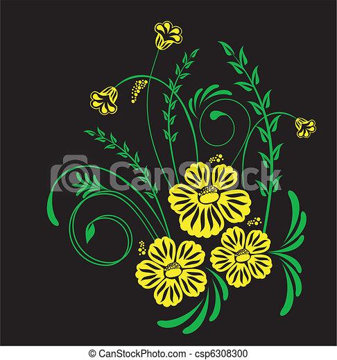 virágos, díszítés - csp6308300
