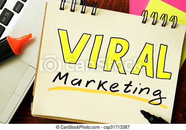 viral marketing - csp31713387