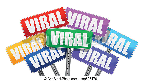 viral marketing signs concept design on white background vector clip rh canstockphoto com marketing clipart png marketing clipart png