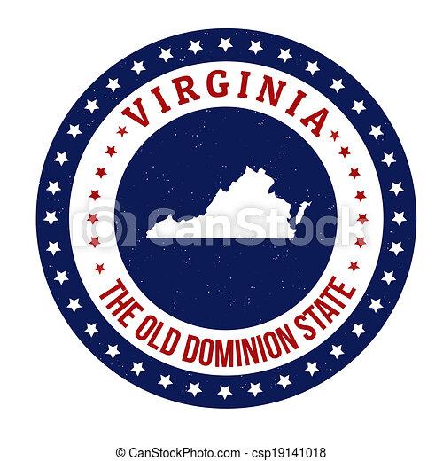 Virginia stamp - csp19141018