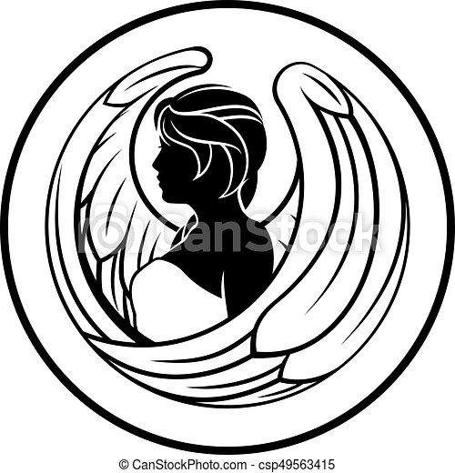 virgo zodiac horoscope sign astrology horoscope zodiac vector rh canstockphoto com zodiac clipart black and white zodiac clipart images