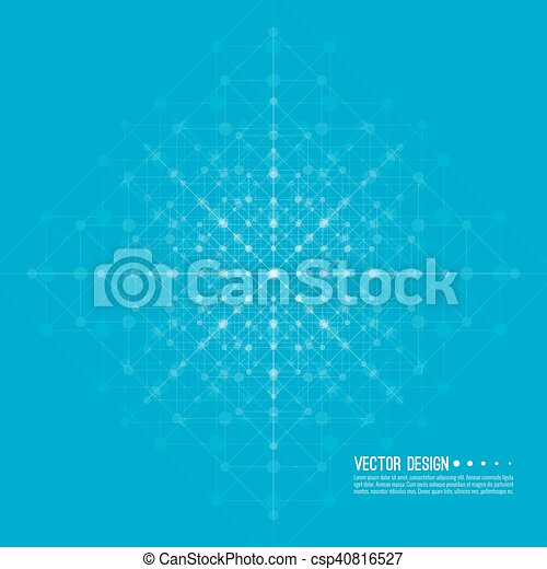Virtual abstract background - csp40816527