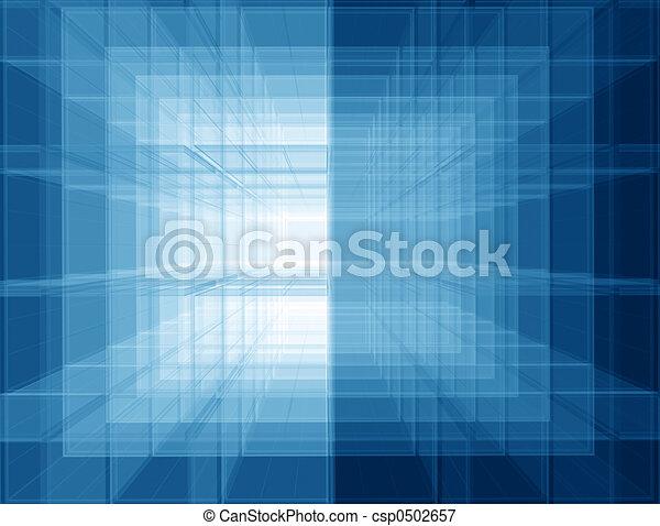 Virtual blue space - csp0502657