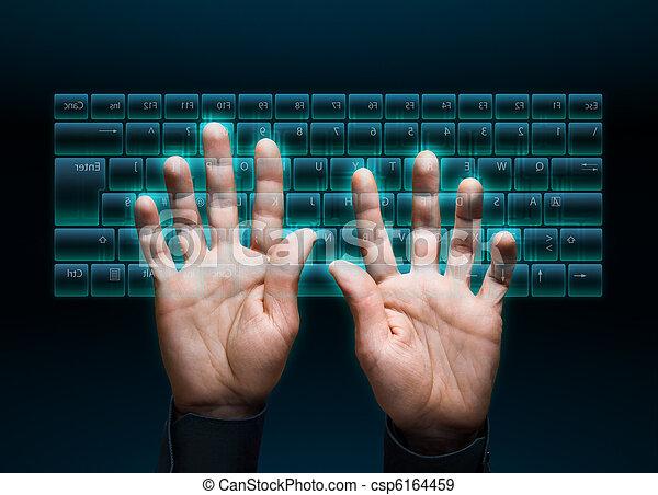 virtual keyboard - csp6164459