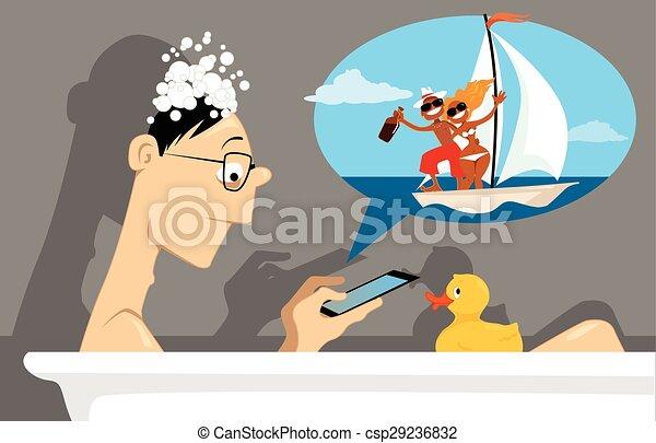 Virtual life - csp29236832
