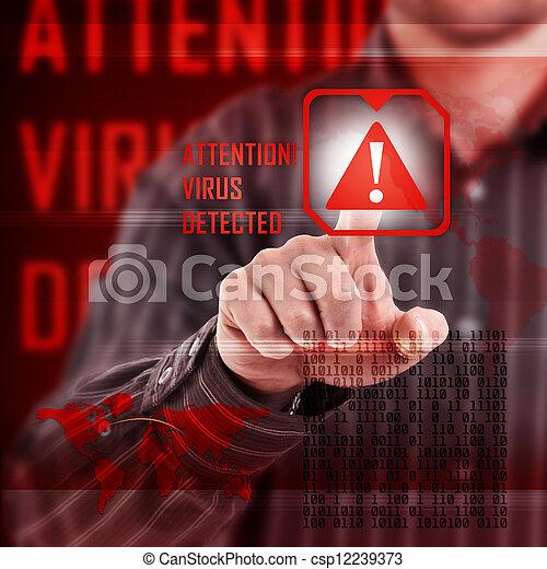 Virusalarm - csp12239373