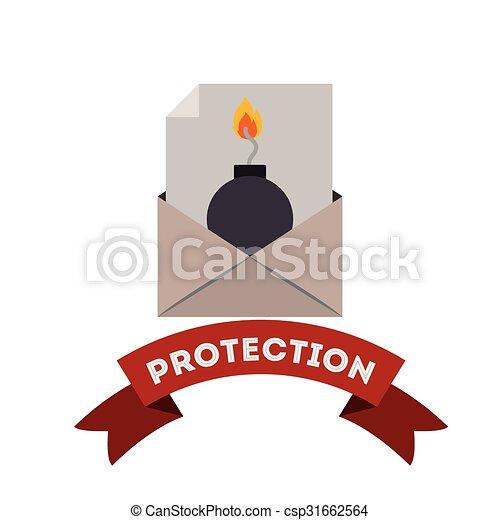 virus bescherming, ontwerp - csp31662564