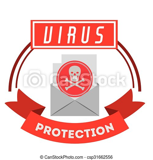 virus bescherming, ontwerp - csp31662556