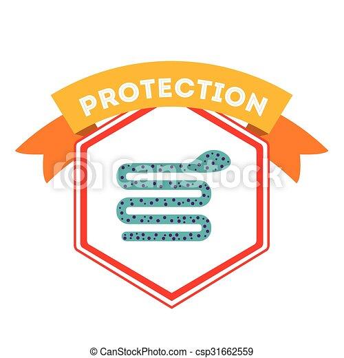 virus bescherming, ontwerp - csp31662559
