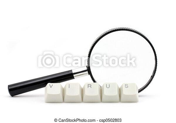 Escaneo de virus informático - csp0502803
