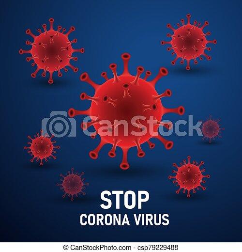 virus, corona - csp79229488
