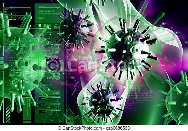 virus - csp6686533