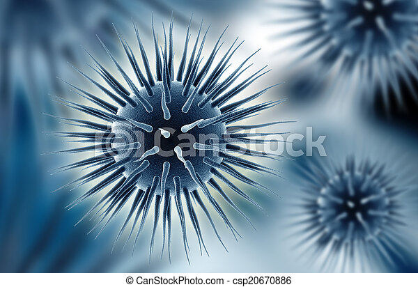Hola virus - csp20670886