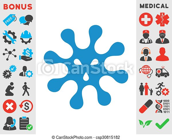 Virus Icon - csp30815182