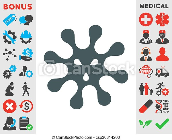 Virus Icon - csp30814200