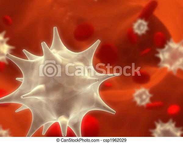 Virus infection - csp1962029
