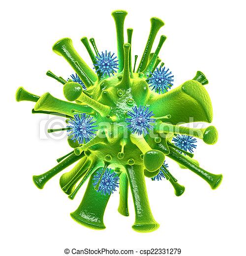 Virus - csp22331279