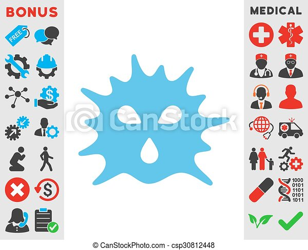 Virus Structure Icon - csp30812448
