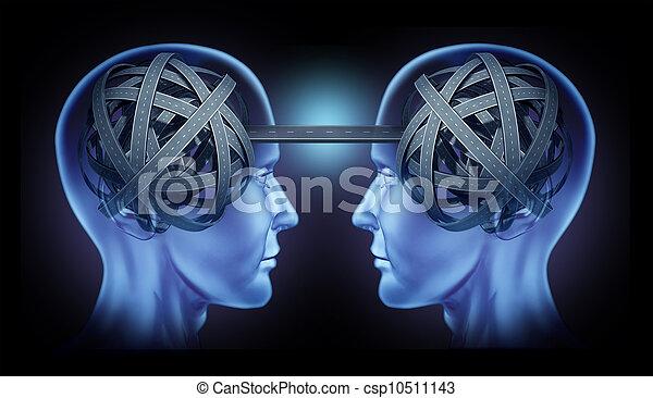 visão clara, cooperação - csp10511143