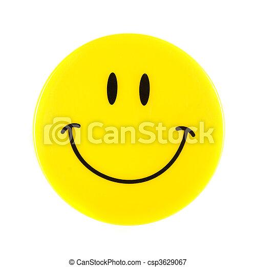visage smiley - csp3629067