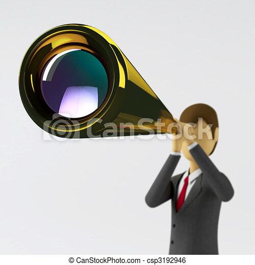 Visión de negocios - csp3192946