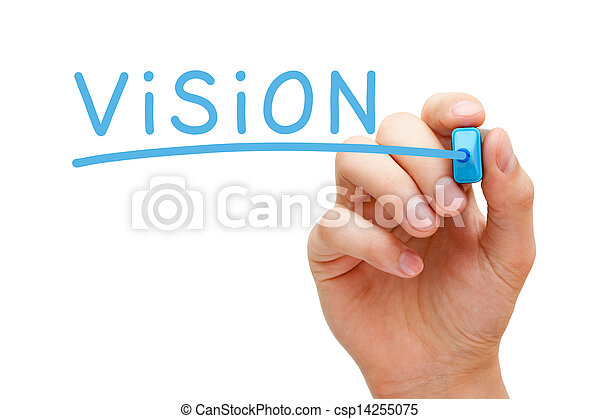 Vision Blue Marker - csp14255075