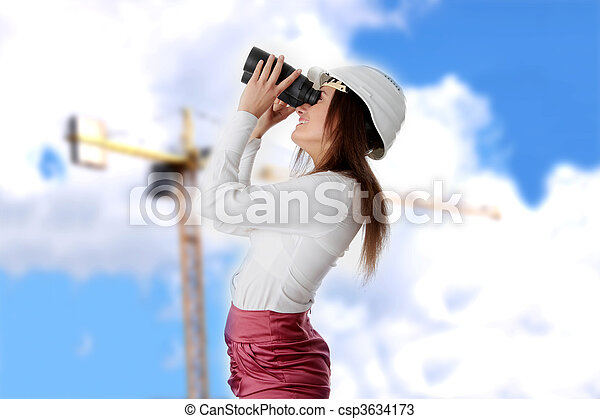 vision, business - csp3634173