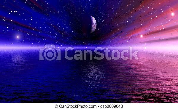 vision, espace - csp0009043