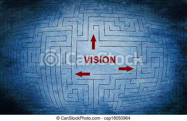 Vision maze concept - csp18050964