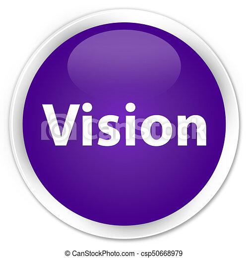 Vision premium purple round button - csp50668979