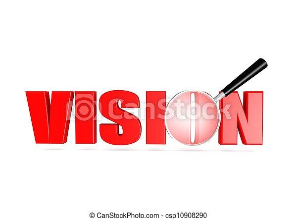 Vision - csp10908290