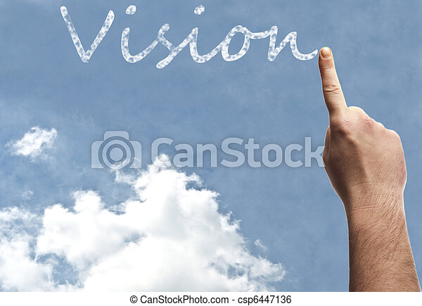 Vision word - csp6447136
