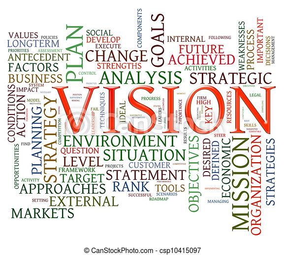 Vision word tags - csp10415097