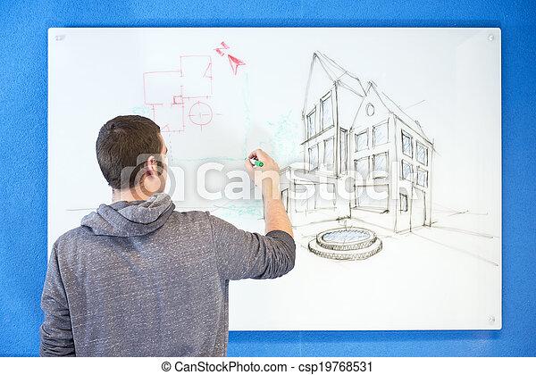 visionary architect - csp19768531