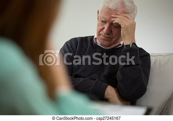 Visit a psychiatrist - csp27245167