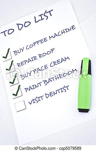 Visit dentist - csp5079589