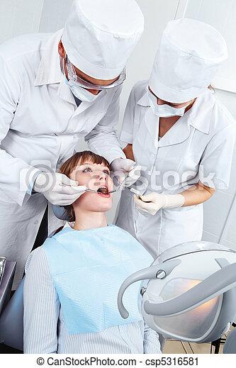 Visit to stomatologist - csp5316581