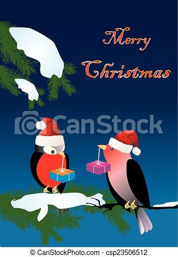 Visita de Navidad, - csp23506512