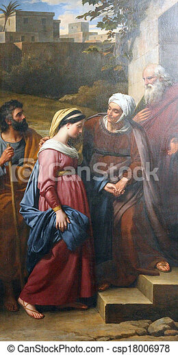 Visitation of the Blessed Virgin Mary - csp18006978