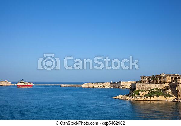 vista, puerto, magnífico - csp5462962