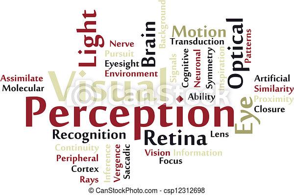 visual, percepção - csp12312698