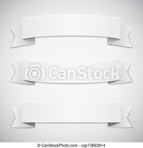 vit, remsor, baner - csp13663814