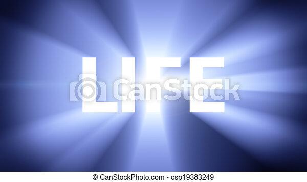 vita, illuminato - csp19383249