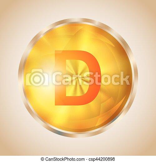 Vitamin D icon - csp44200898